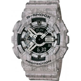 Montre Casio G-Shock GA-110SL-8AER - Montre Résine Digitale Homme