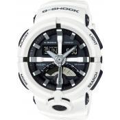 Montre Casio Multifonction Résistante GA-500-7AER - Blanc