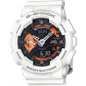 Montre Casio G-Shock GMA-S110CW-7A2ER - Montre Chronographe Ronde Homme