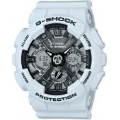 Casio - Montre Casio G-Shock GMA-S120MF-2AER - Montre Blanche