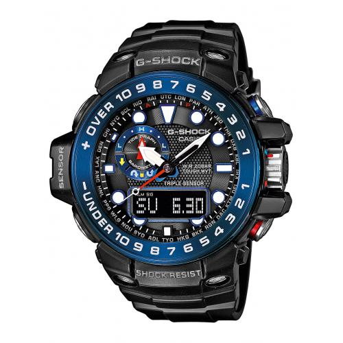 Casio - Montre Casio G-Shock GWN-1000B-1BER - Montre altimetre casio