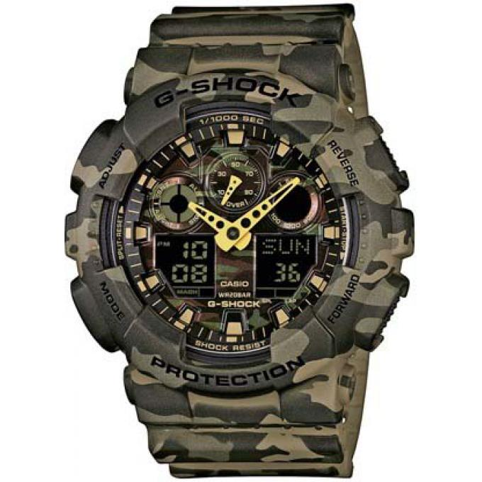 montre casio g shock ga 100cm 5aer montre r sine chronom tre homme sur bijourama montre. Black Bedroom Furniture Sets. Home Design Ideas