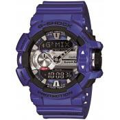 Montre Casio  Violette Multifonction GMix GBA-400-2AER
