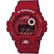 Montre Casio GD-X6900HT-4ER - Montre Ronde Rouge Snooze Homme