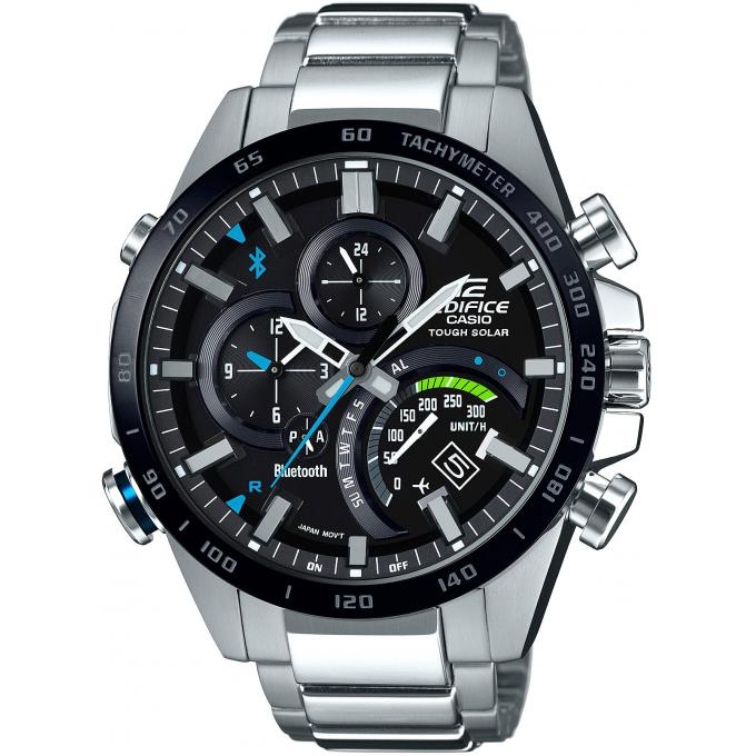 montre casio new edifice eqb 501xdb 1aer montre multifonctions acier analogique homme sur. Black Bedroom Furniture Sets. Home Design Ideas