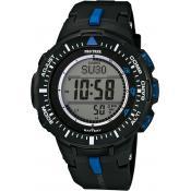 Montre Casio Chronographe Noire PRG-300-1A2ER - Promos
