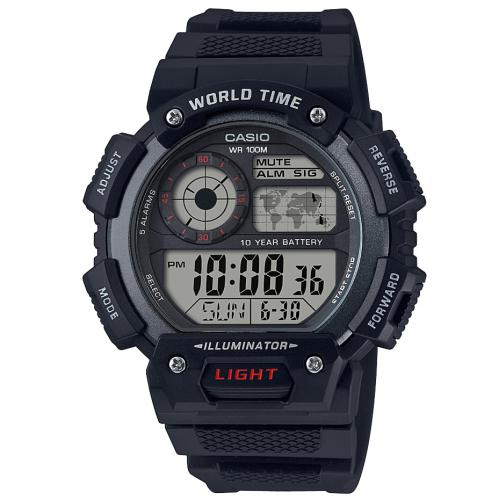 Casio - Montre Casio AE-1400WH-1AVEF - Montre Casio Sport