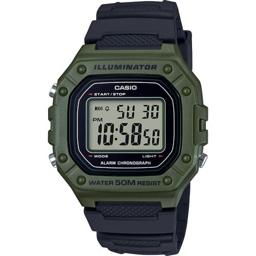 Casio - Montre Casio W-218H-3AVEF - Montre Casio