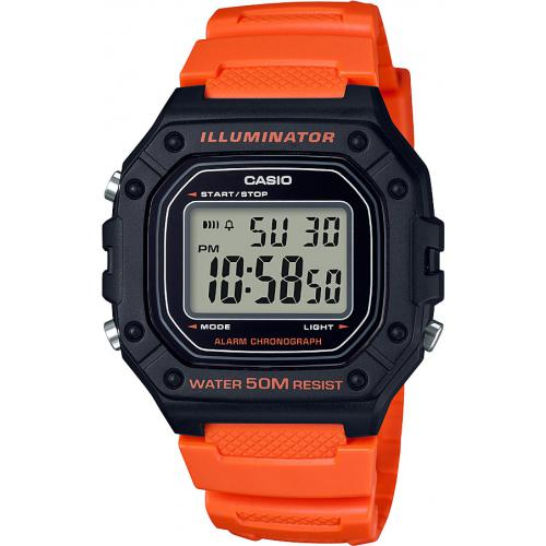 Casio - Montre Casio W-218H-4B2VEF - Montre Casio