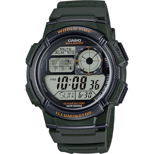 Casio - Montre Casio Collection AE-1000W-3AVEF - Montre Casio