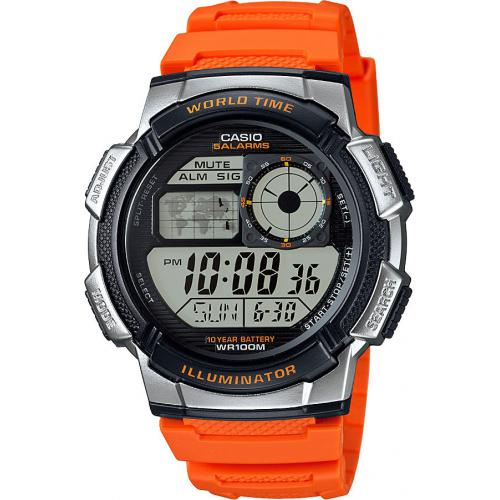 Casio - Montre Casio Collection AE-1000W-4BVEF - Montre Digitale Casio
