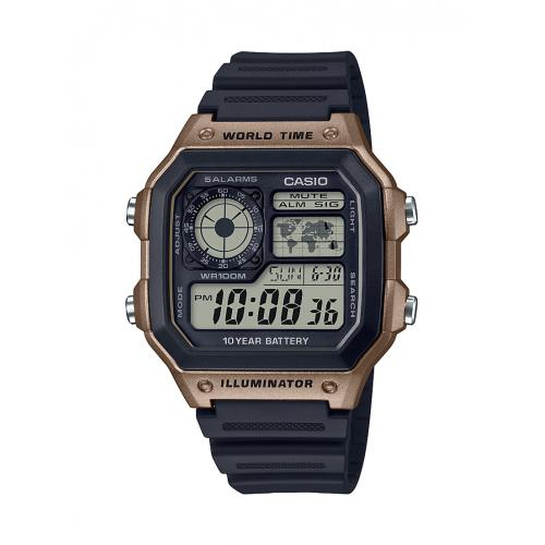 Casio - Montre Casio AE-1200WH-5AVEF - Montre Digitale Casio