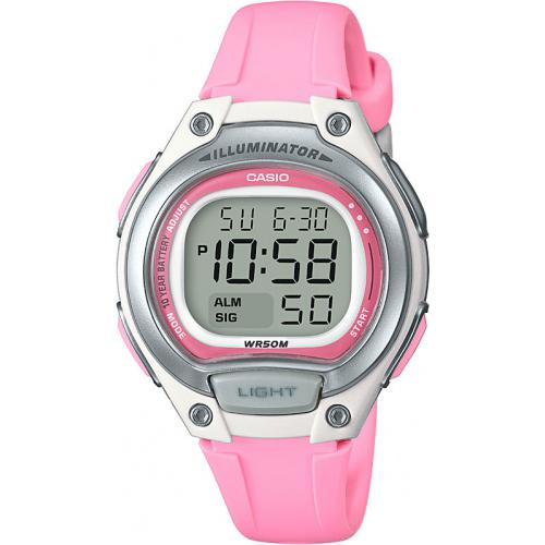 Casio - Casio Collection LW-203-4AVEF - Montre Femme Rectangulaire