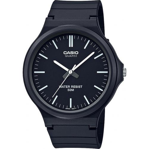 Casio - Montre Casio Casio Collection MW-240-1EVEF - Montre en Plastique Femme