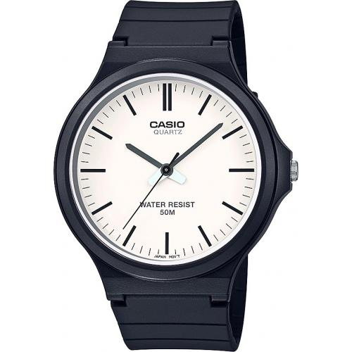 Casio - Montre Casio Casio Collection MW-240-7EVEF - Montre en Plastique Femme