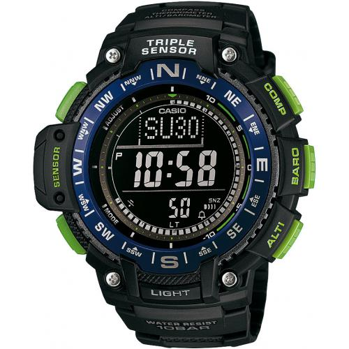 Casio - Montre Casio Collection SGW-1000-2BER - Montre altimetre casio