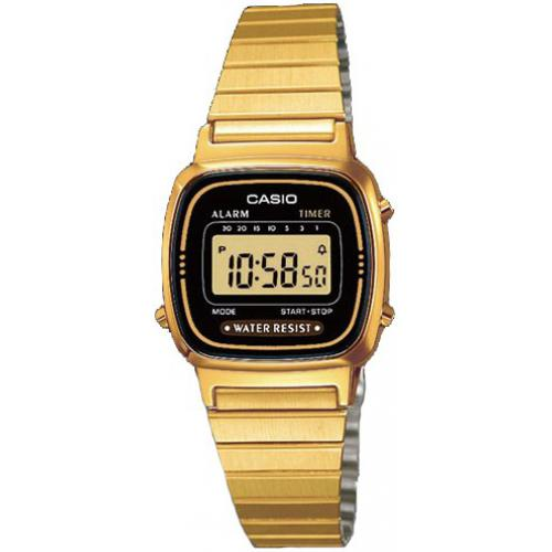 Casio - Montre Casio Retro Vintage LA670WEGA-1EF - Montre Digitale Casio