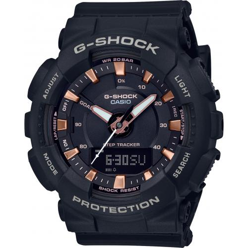 Casio - Montre Casio G-Shock GMA-S130PA-1AER - Montre en Plastique Femme