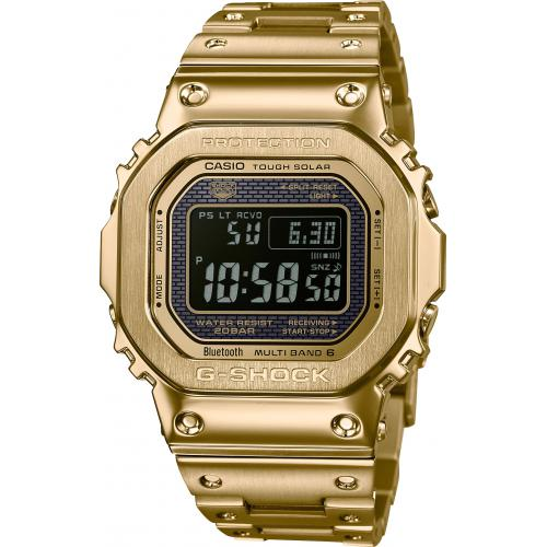 Casio - Montre Connectée Casio G-Shock GMW-B5000GD-9ER - Montre Casio