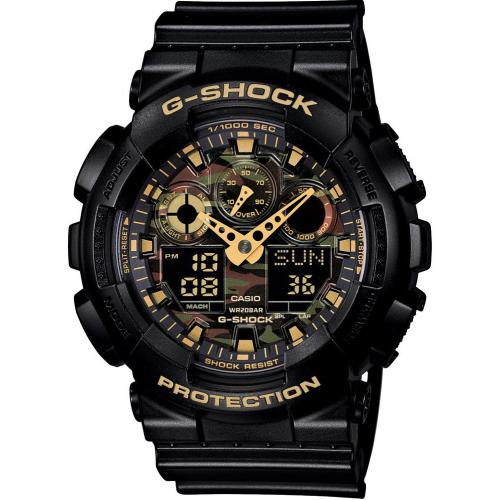Casio - Montre Casio G-Shock GA-100CF-1A9ER - Montre casio etanche