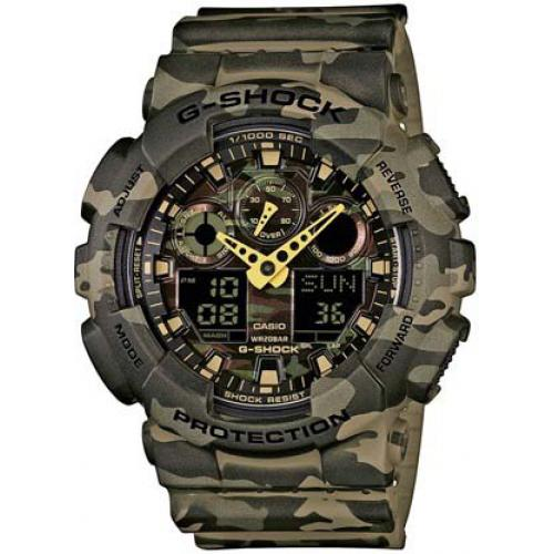 Casio - Montre Casio G-Shock GA-100CM-5AER - Montre Casio