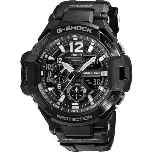 Casio - Montre Casio G-Shock G-Shock GA-1100-1AER - Montre Casio