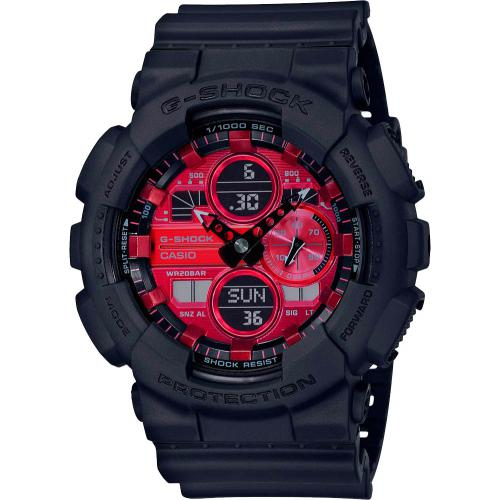 Casio - Montre Casio GA-140AR-1AER - Montre Casio
