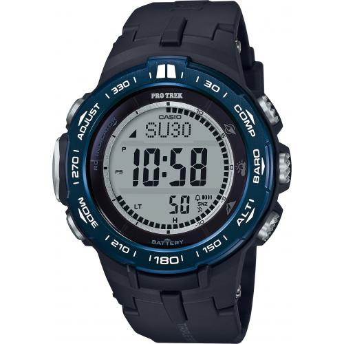 Casio - Montre Connectée Casio Pro Trek PRW-3100YB-1ER - Montre Casio Sport