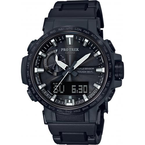 Casio - Montre Connectée Casio Pro Trek PRW-60FC-1AER - Montre Casio