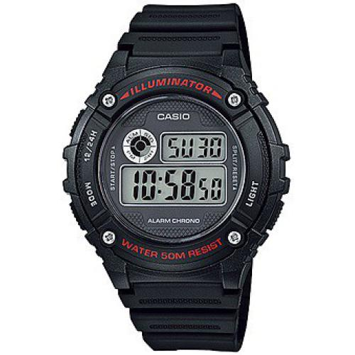 Casio - Montre Casio Collection W-216H-1AVEF - Montre casio etanche