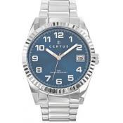 Montre Certus  Ronde Dateur Bleue 616286