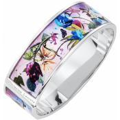 Bracelet Christian Lacroix Bijoux Fleur Argenté X16258M