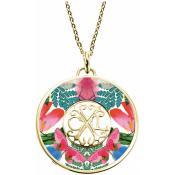 Collier et pendentif Christian Lacroix Bijoux Papillon Exotique X46249D