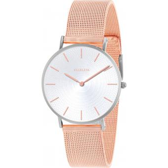 Montre Clueless BCL10004-303 - Montre Milanaise Or Rose Femme