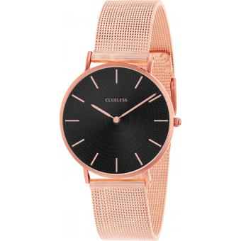 Montre Clueless BCL10004-803 - Montre Milanaise Or Rose Femme