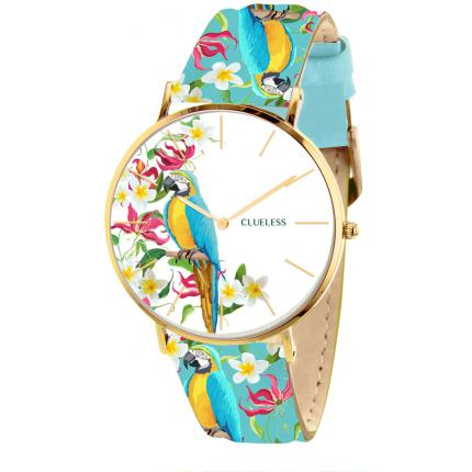 Montre Clueless BCL10031-009 - Montre Cuir Multicolore Femme