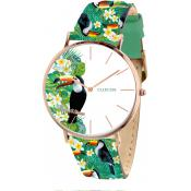 Montre Clueless BCL10031-010 - Montre Cuir Multicolore Femme