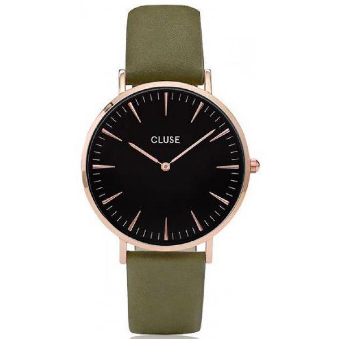 montre cluse la boh me cl18024 montre vert olive mixte sur bijourama montre mixte pas cher. Black Bedroom Furniture Sets. Home Design Ideas