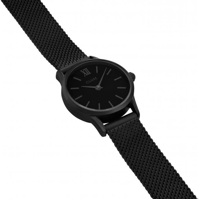 montre cluse montres la vedette cl50004 1009796 montre acier noir femme sur bijourama montre. Black Bedroom Furniture Sets. Home Design Ideas