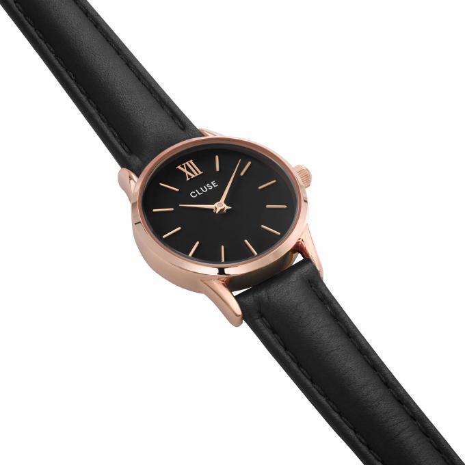 montre cluse montres la vedette cl50011 1009785 montre cuir noir femme sur bijourama montre. Black Bedroom Furniture Sets. Home Design Ideas