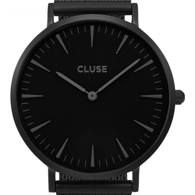 montre cluse la boh me cl18111 montre milanaise noire mixte sur bijourama montre mixte pas. Black Bedroom Furniture Sets. Home Design Ideas