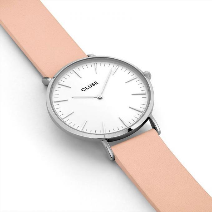 montre cluse la boh me cl18231 montre cuir rose mixte sur bijourama montre mixte pas cher en. Black Bedroom Furniture Sets. Home Design Ideas