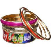 Bracelet Desigual Bijoux Multicolore Joncs 57G55K1-ROJO SANGRE