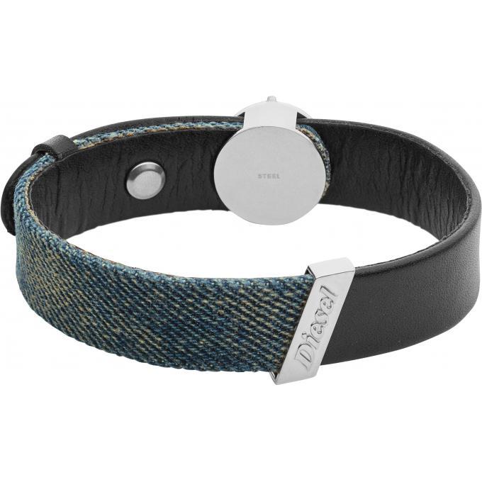 bracelet diesel bijoux denim dx1029040 bracelet cuir jean homme sur bijourama r f rence des. Black Bedroom Furniture Sets. Home Design Ideas