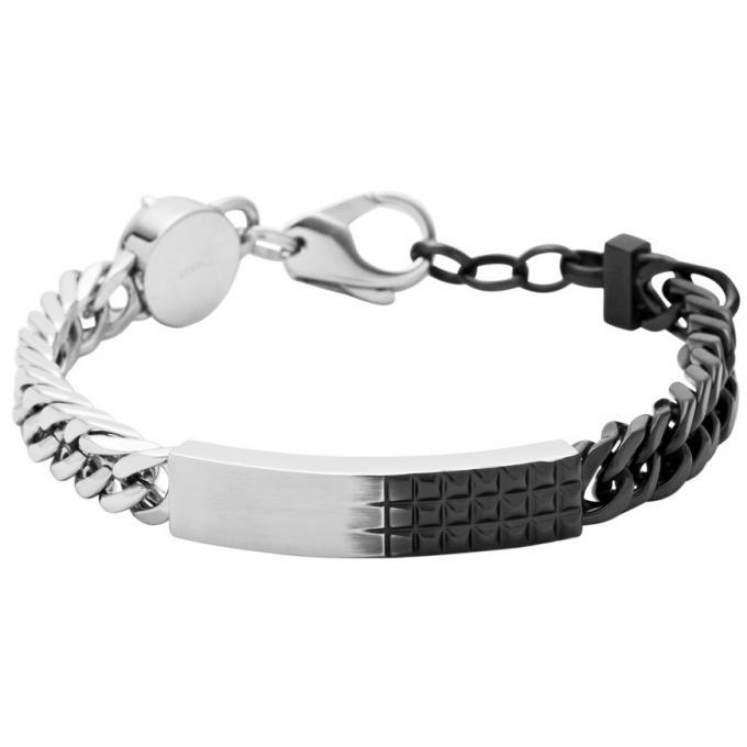 bracelet diesel dx0873931 bracelet argent cha nette styl homme sur bijourama votre. Black Bedroom Furniture Sets. Home Design Ideas