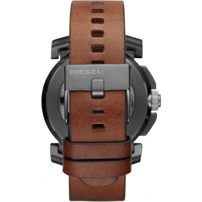 montre connect e diesel diesel on time dzt1003 montre connect e multifonctions cuir marron. Black Bedroom Furniture Sets. Home Design Ideas