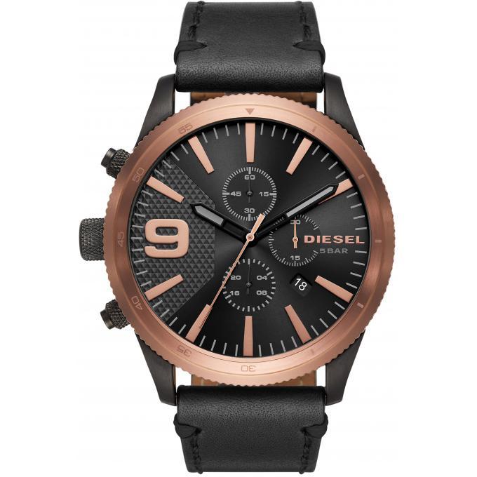 montre diesel dz4445 montre noire ronde homme sur bijourama montre homme pas cher en ligne. Black Bedroom Furniture Sets. Home Design Ideas