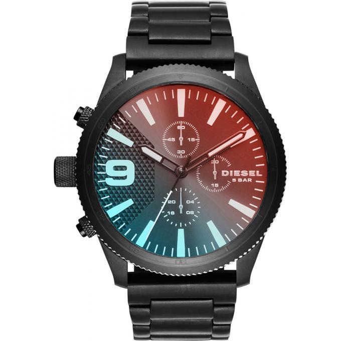 montre diesel dz4447 montre chronographe acier noir homme sur bijourama montre homme pas. Black Bedroom Furniture Sets. Home Design Ideas