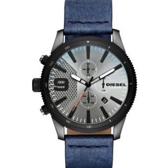 montre diesel dz4456 montre chronographe dateur cuir bleu homme sur bijourama montre homme. Black Bedroom Furniture Sets. Home Design Ideas