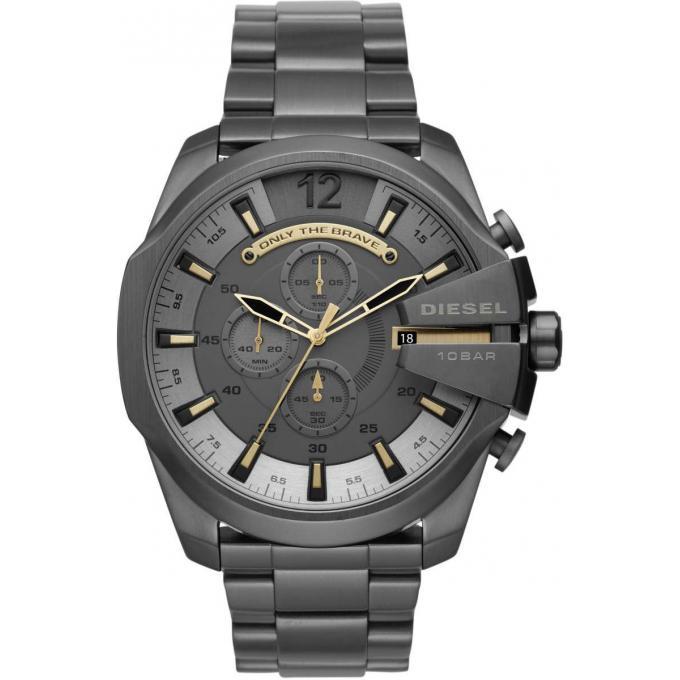 montre diesel dz4466 montre acier gris homme sur bijourama montre homme pas cher en ligne. Black Bedroom Furniture Sets. Home Design Ideas